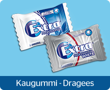 Kaugummi - Dragees Mini-Packs